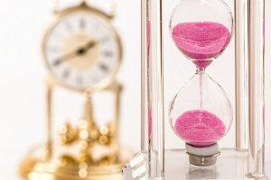 -a sand clock