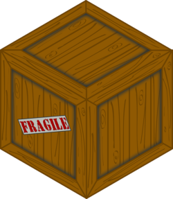 How to pack fragile items - fragile box