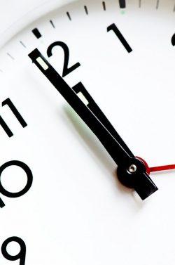 -minute to twelve