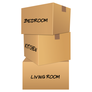 Organize and pack your belongings in advance.