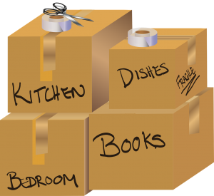 Label your boxes with essential information.
