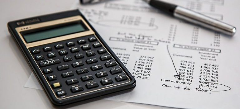 Determine your budget when you start planning your move.