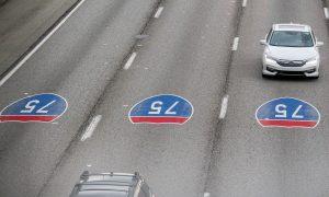 an interstate road