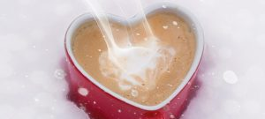 Making a traditional hot chocolate after enjoying winter activities for the whole family