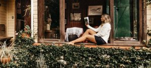 relax in Parker after your relocation with your favorite book