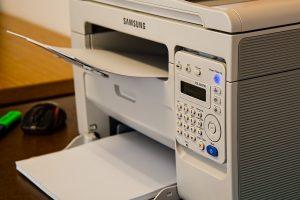 an old printer