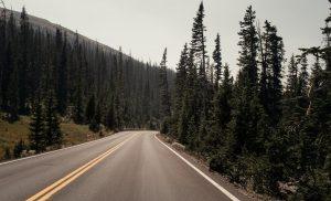 A road in Colorado